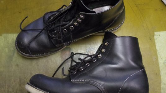 レッドウイング ブーツ オールソール例 2-1