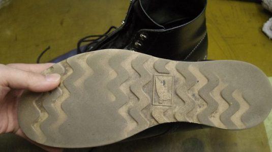 レッドウイング ブーツ オールソール例 2-2