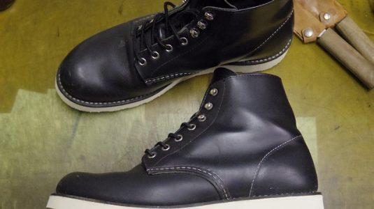 レッドウイング ブーツ オールソール例 3-1