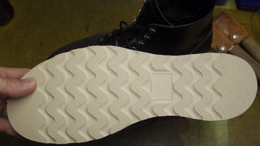 レッドウイング ブーツ オールソール例 3-2