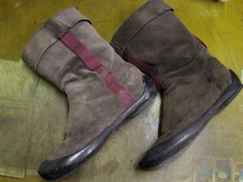 カンペール ブーツ オールソール例 2-1