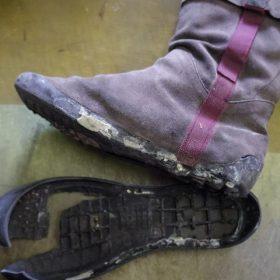 カンペール ブーツ オールソール例