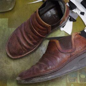 婦人靴 クリーニング例