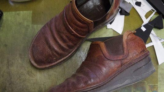 婦人靴 クリーニング例 2-1