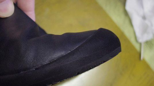 カンペールブーツ オールソール例 4-2