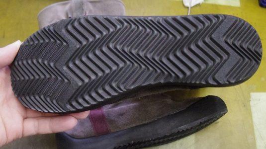 カンペール ブーツ オールソール例 3-2