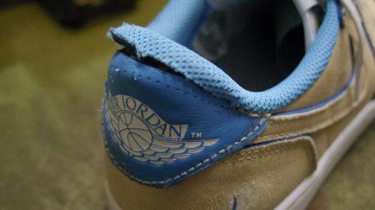 スニーカー 履き口縫い直し例 2-2