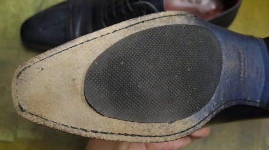紳士靴 ハーフソール例 2-2