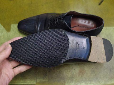 紳士靴 ハーフソール例 3