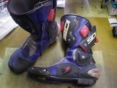 SIDI バイクブーツ オールソール例 2-1