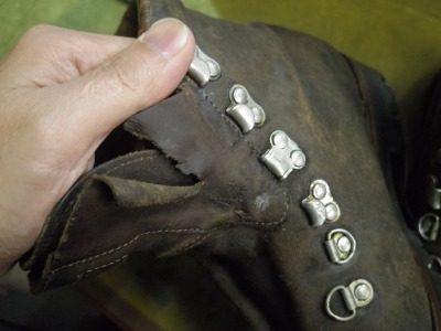 重登山靴 甲ベロ交換例 2-2