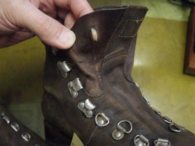 重登山靴 甲ベロ交換例 2-3